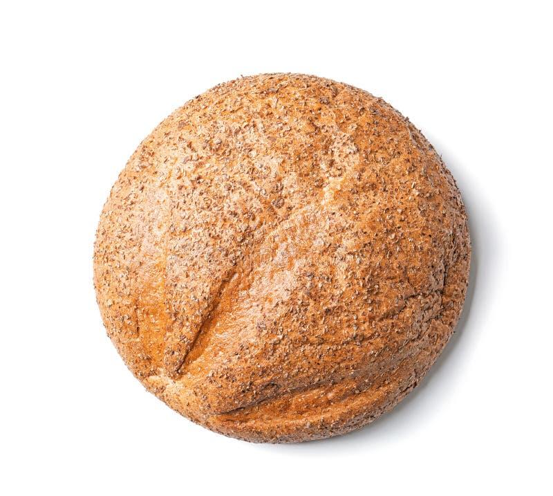 Isolerat nytt smakligt bröd arkivbilder