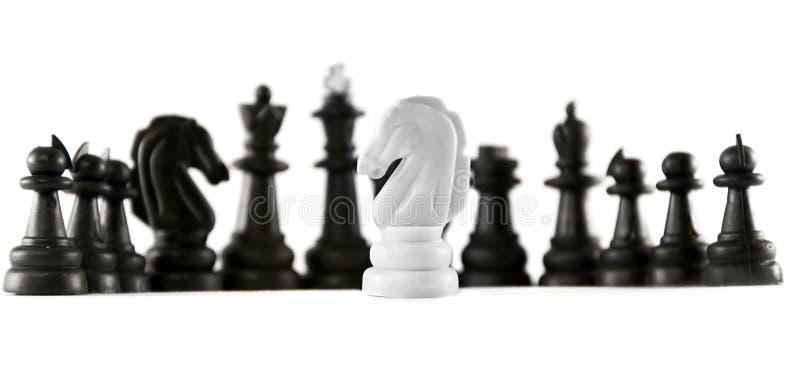 isolerat schack arkivbild