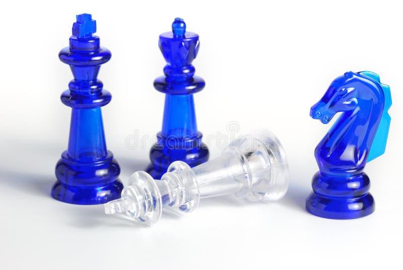 isolerat schackdiagram royaltyfria bilder