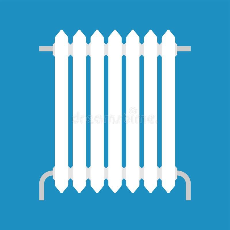 Isolerat uppvärmningelement system för metallelementuppvärmning royaltyfri illustrationer