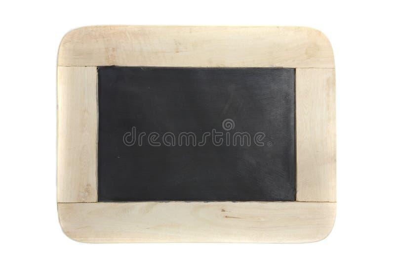 isolerat vitt trä för bakgrund blackboard royaltyfri foto