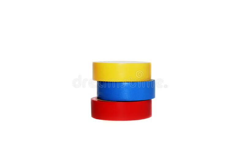 Isolerende band op een witte achtergrond royalty-vrije stock afbeelding