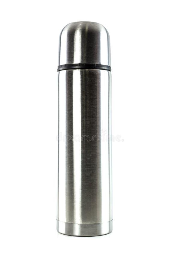 Isoliergetränkflasche lizenzfreie stockbilder