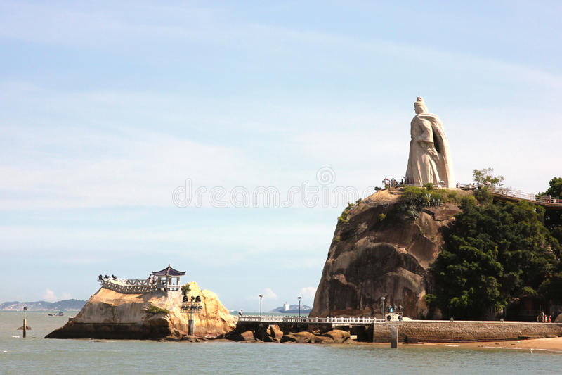Isolotto di Gulangyu fotografie stock