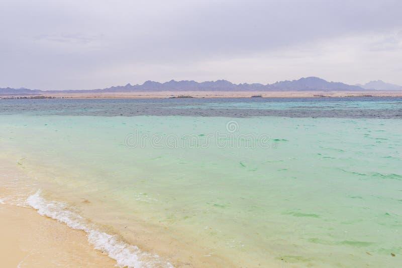 Isolotto di Paradise, Egitto immagine stock libera da diritti