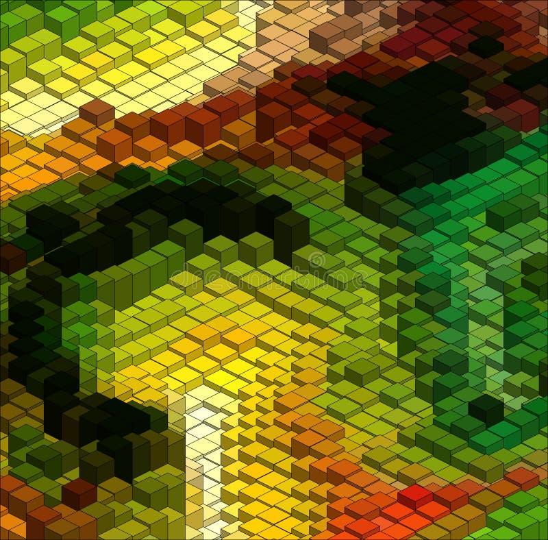 Isometric διανυσματική γραφική παράσταση διανυσματική απεικόνιση