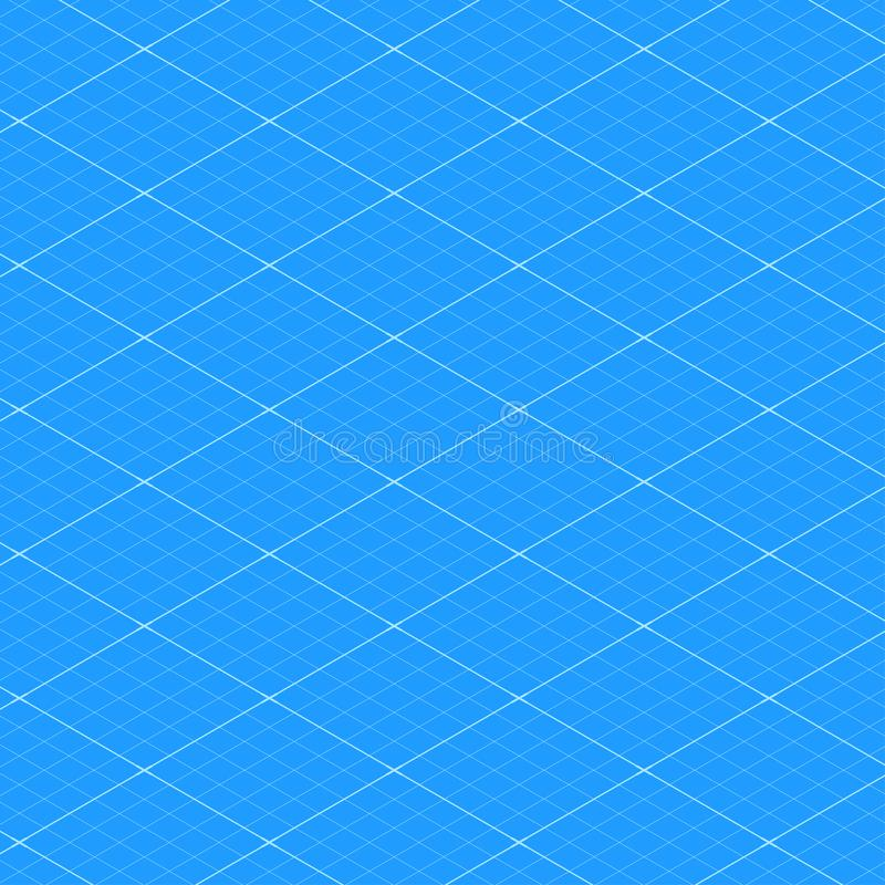 White Blueprint Seamless Pattern Texture Background  Vector