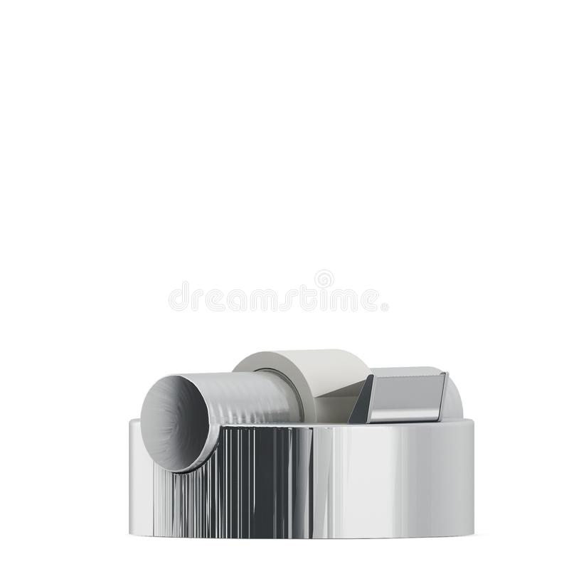 Isometric Office accessories 3D renders stock illustration