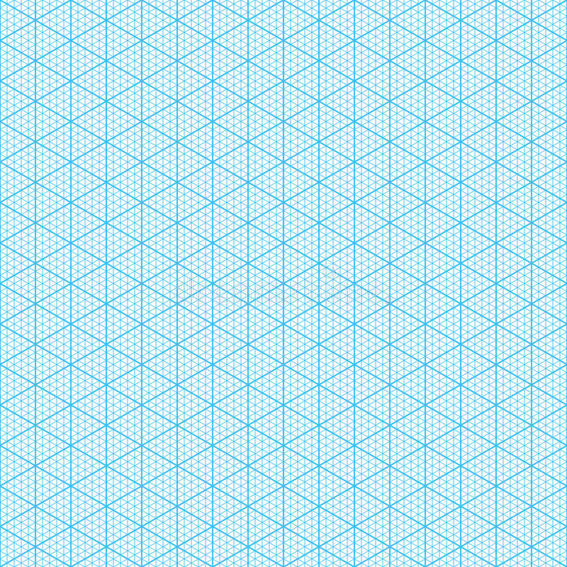 Free Isometric Graph Paper Royalty Free Stock Photography - 40704367