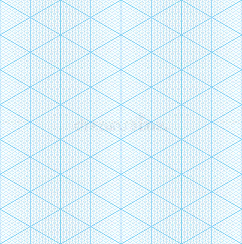 Download Isometric Graph Paper For 3D Design Stock Vector   Image: 78462756