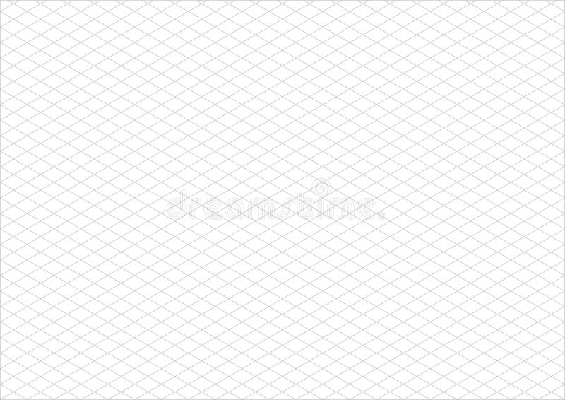 real size blue millimeter engineering paper stock vector