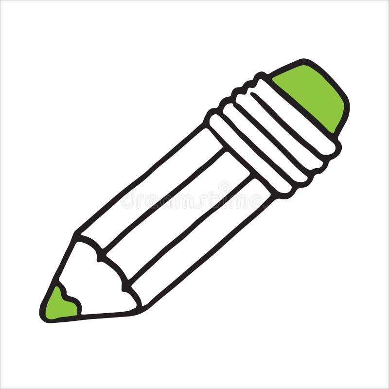 Isometric icon design of pencil, sketching pencil. Vector illustration stock illustration