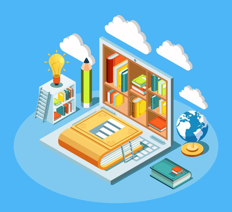 Library Cloud Stock Illustrations 3 885 Library Cloud Stock Illustrations Vectors Clipart Dreamstime
