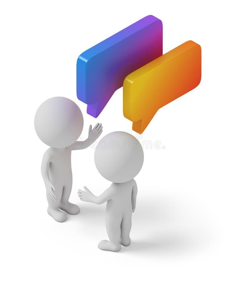 Download Isometric people - dialog stock illustration. Image of speak - 82065169