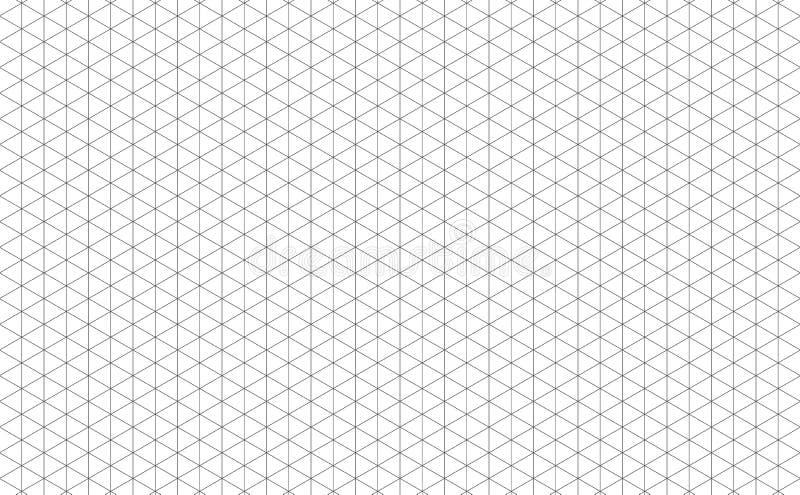 Isometric siatek linie obrazy royalty free