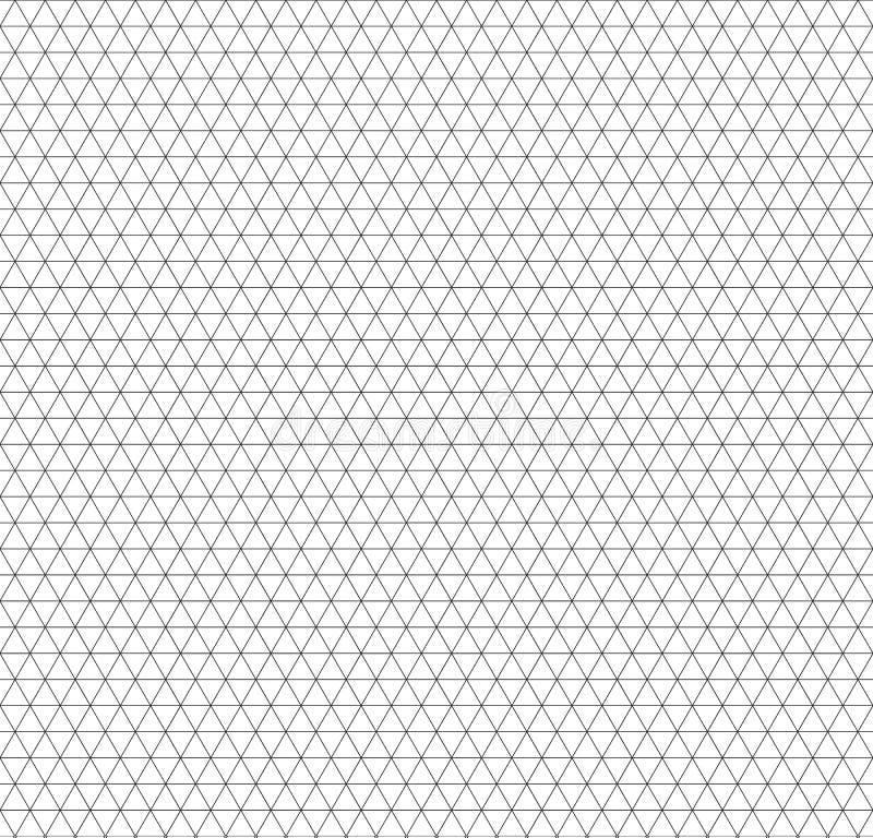Isometric siatki bezszwowy wzór wizytówki projekta kopertowy skoroszytowy szablonu wektor ilustracja wektor