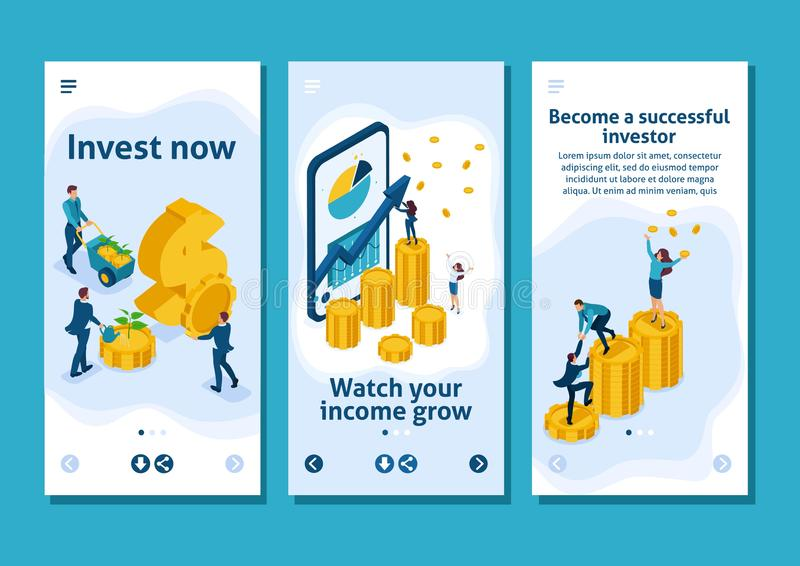 Online Investing Stock Illustrations – 1,000 Online
