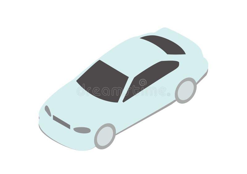 Isometricaauto vector illustratie