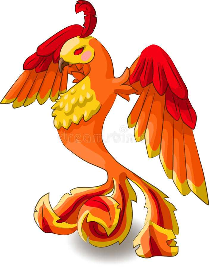 Isometrisch Phoenix stock foto's