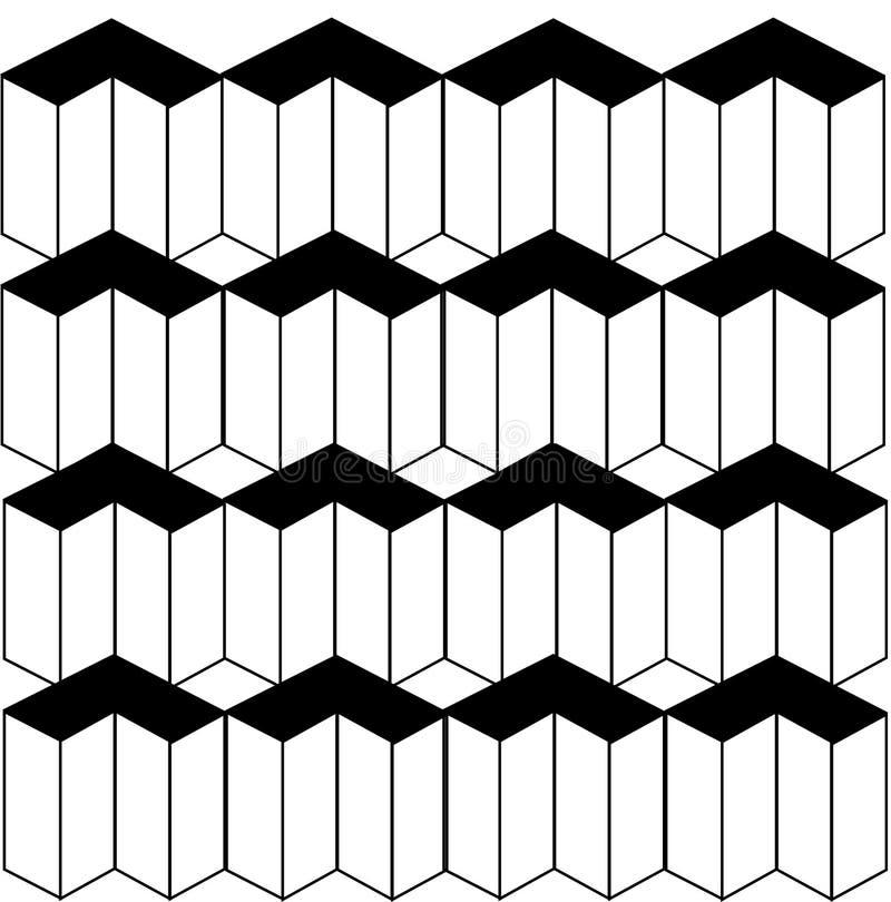 Isometrische Objecten achtergrond vector illustratie