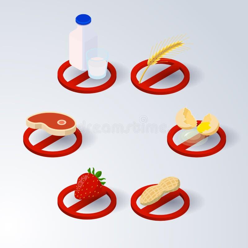 Isometrische tomaat stock afbeeldingen