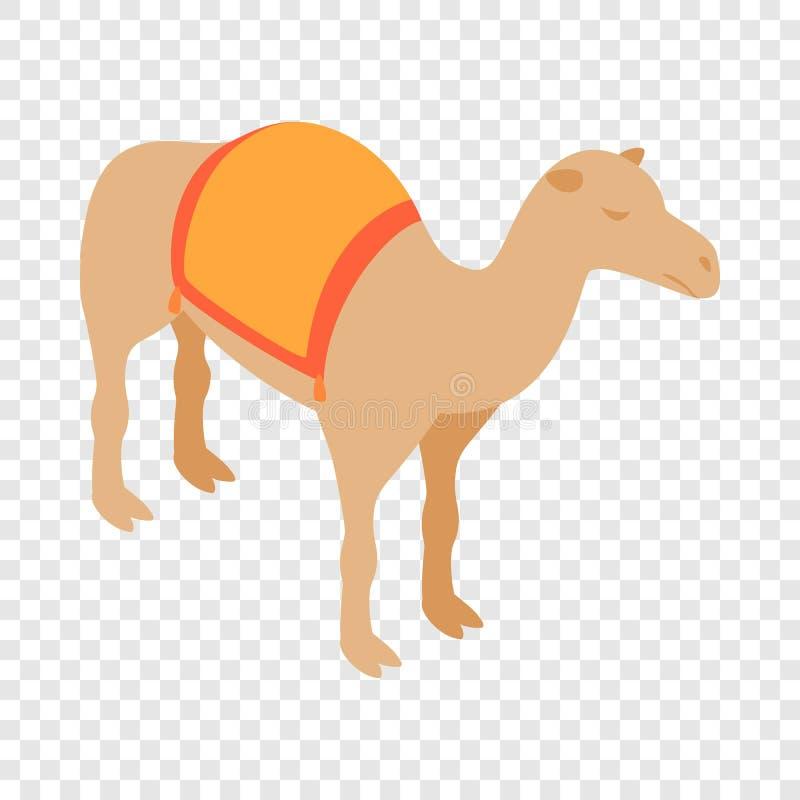 Isometrisk symbol för kamel royaltyfri illustrationer
