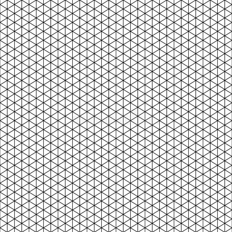 Isometriskt raster för vektor för din design royaltyfri illustrationer