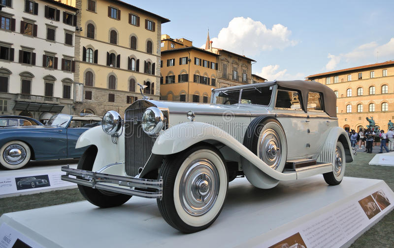 Isotta Fraschini 1930 royaltyfria foton
