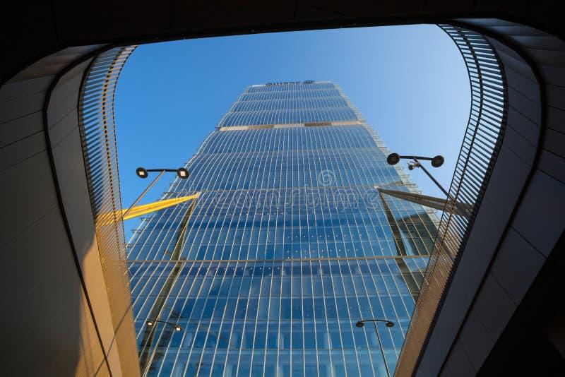 Isozaki-Turm in ` Stadt-Leben ` Komplex 3 Torri Milan im Platz, in den modernen Gebäuden und in den Eigentumswohnungen, Italien stockfotografie