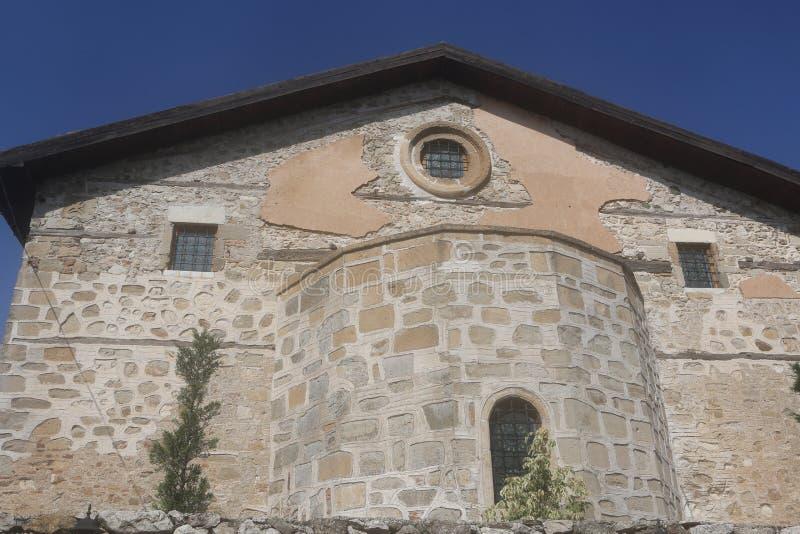 The Aya Stefanos Church, Egirdir. stock photo