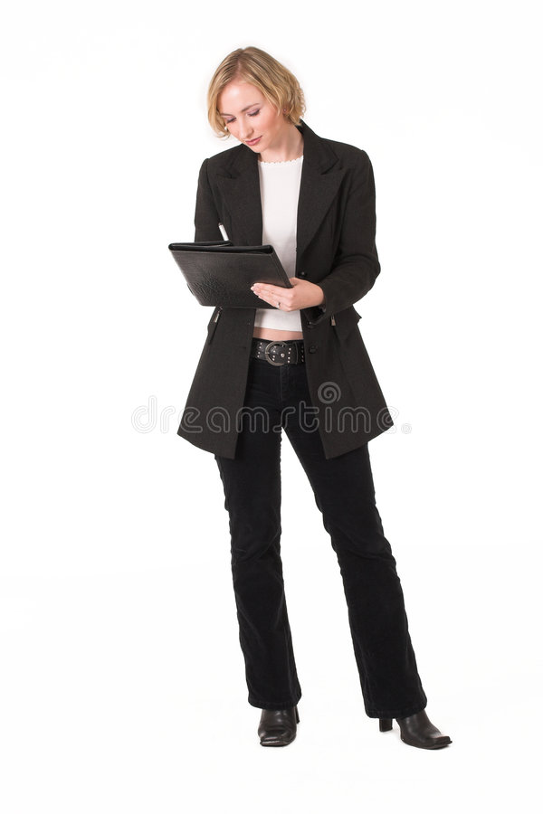 Ispettore femminile #2 immagine stock
