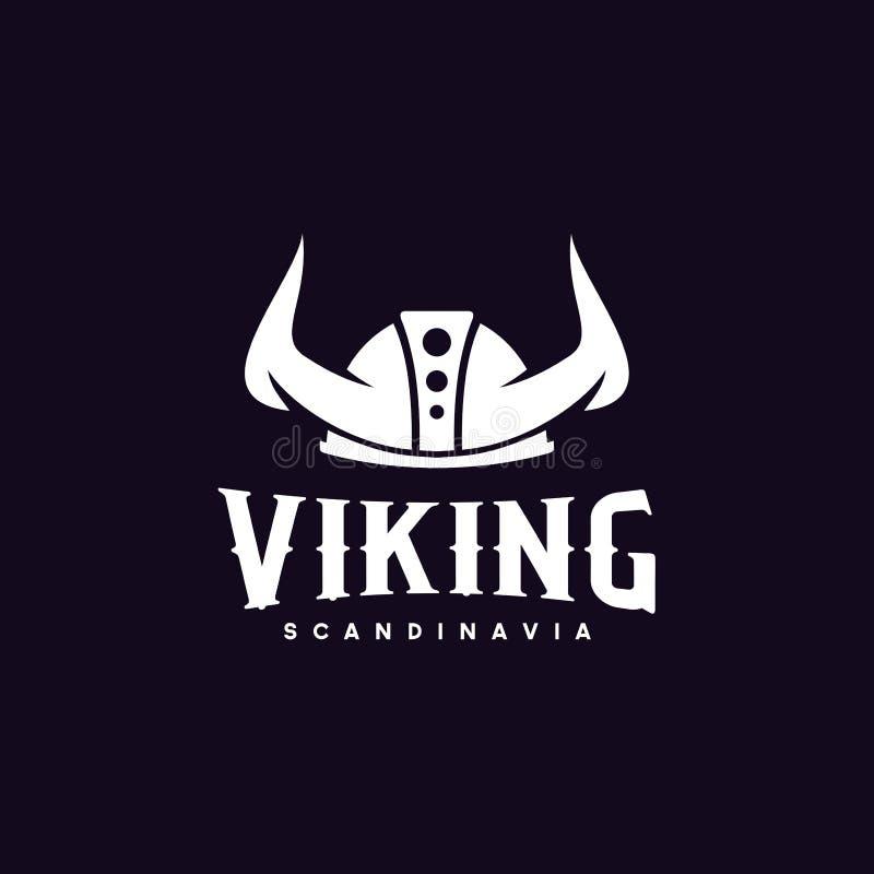 """Ispirazione di progettazione di logo di Viking Buon per """"l'affare maschile: Trasporto, misura trasversale, palestra, club del gio illustrazione vettoriale"""