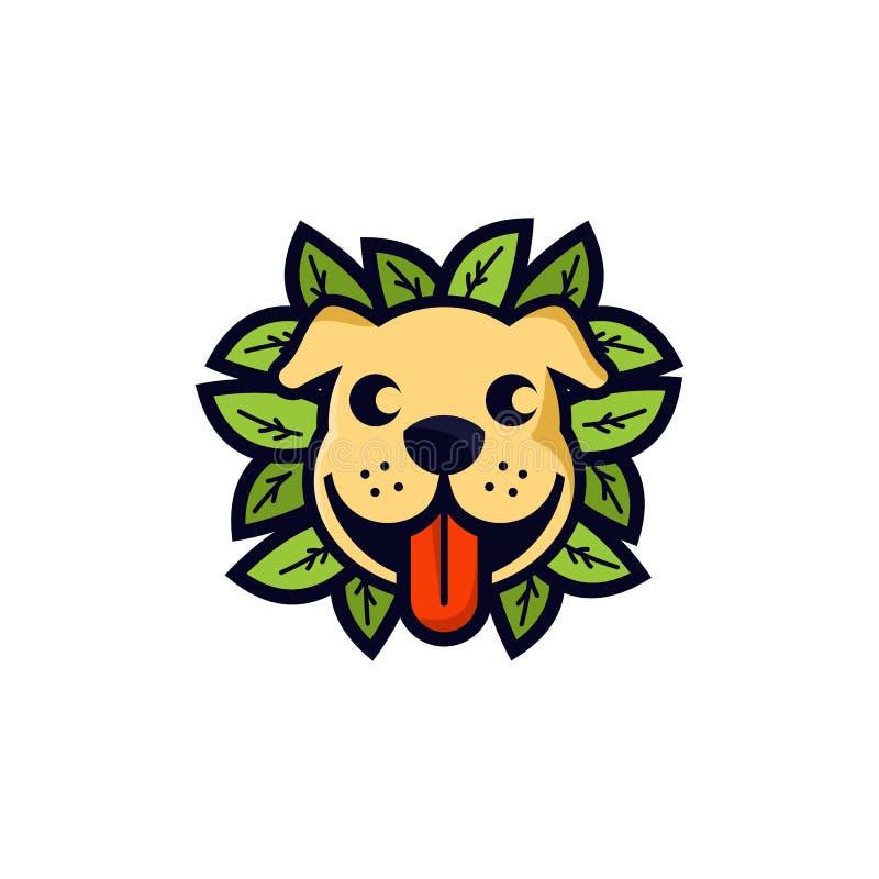 Ispirazioni di progettazioni di logo dei cani royalty illustrazione gratis