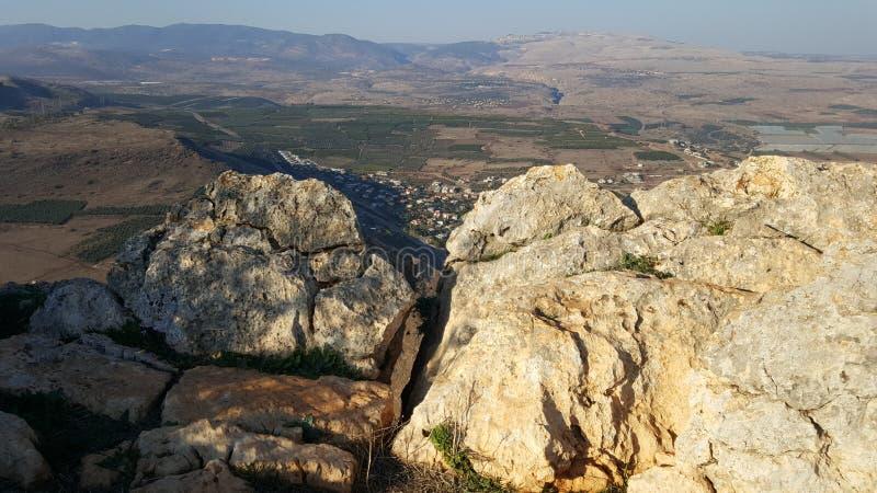 Israélien Rocky Landscape image stock
