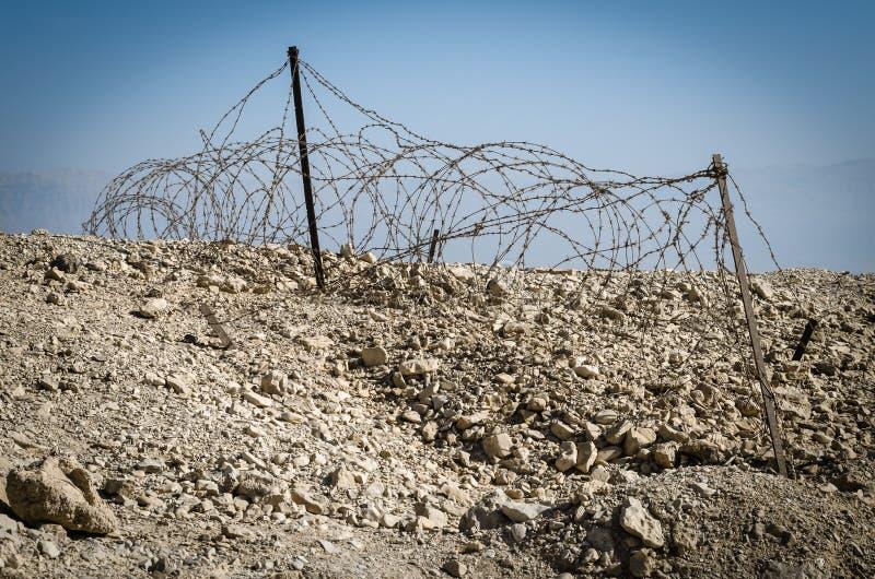 Israël. Woestijn Negev royalty-vrije stock afbeelding