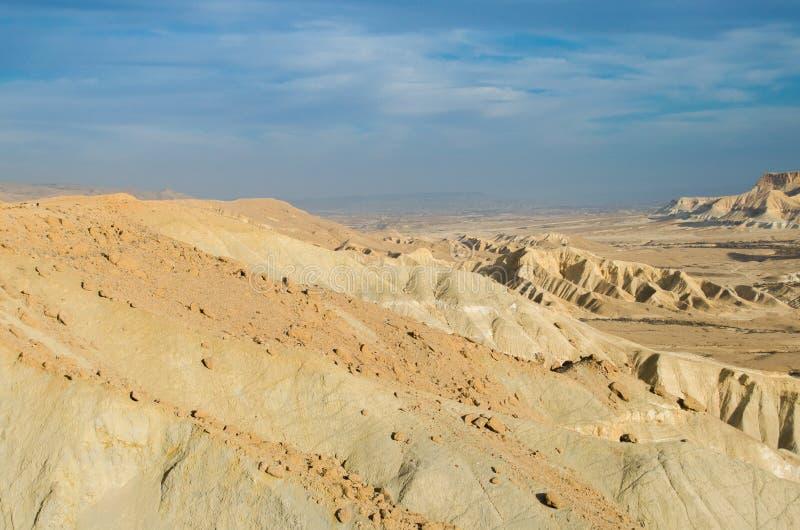 Israël. Woestijn Negev royalty-vrije stock foto