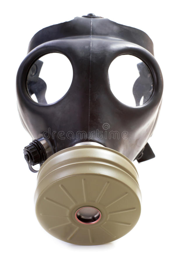 Gasmasker royalty-vrije stock foto's