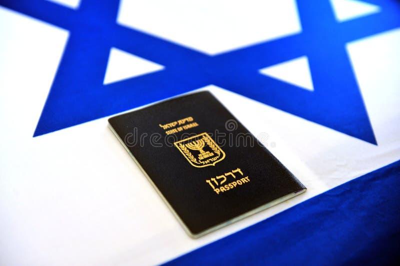 Israëlisch paspoort royalty-vrije stock foto
