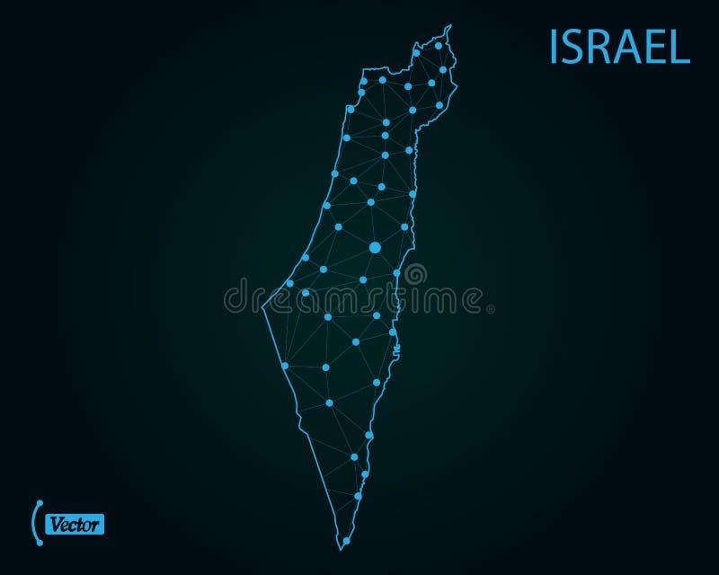 israel översikt också vektor för coreldrawillustration gammal värld för illustrationöversikt stock illustrationer