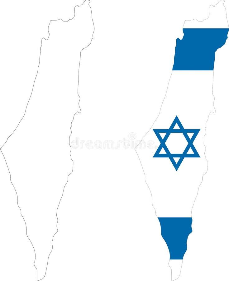 israel royalty ilustracja