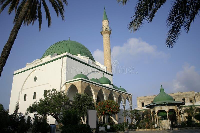 Israel akko meczetu obrazy stock