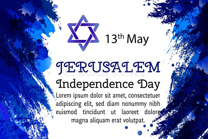 Israel 70 anniversary jerusalem independence day festive greeting download israel 70 anniversary jerusalem independence day festive greeting poster jewish holiday m4hsunfo Image collections