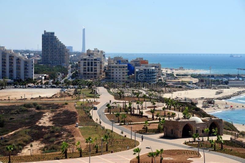 Israel - Ashkelon stockbilder