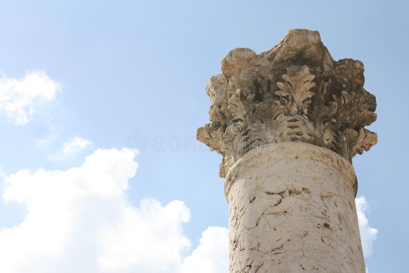 Israel Column stock photo