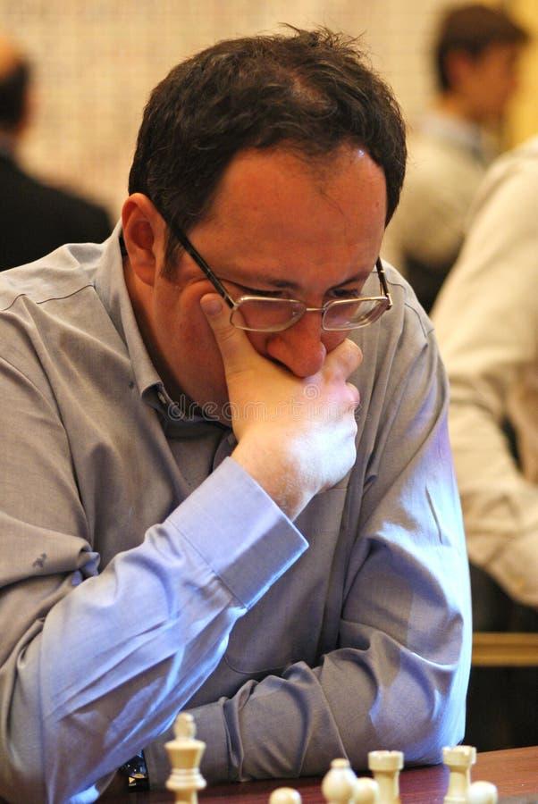 israel för grandmaster för boris schackgelfand royaltyfria bilder