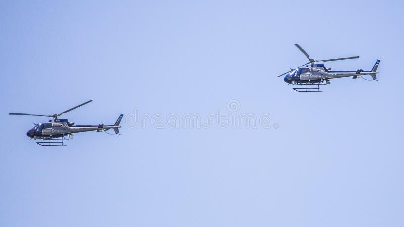 Israel Independece-Luchtparade van de dag de Israëlische Luchtmacht royalty-vrije stock foto