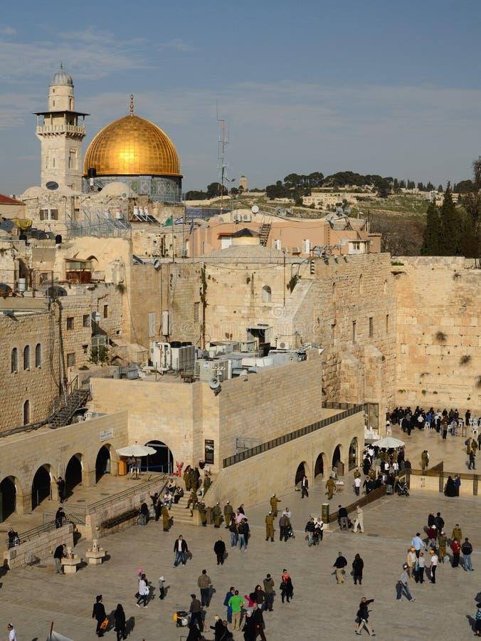 israel jerusalem royaltyfri fotografi