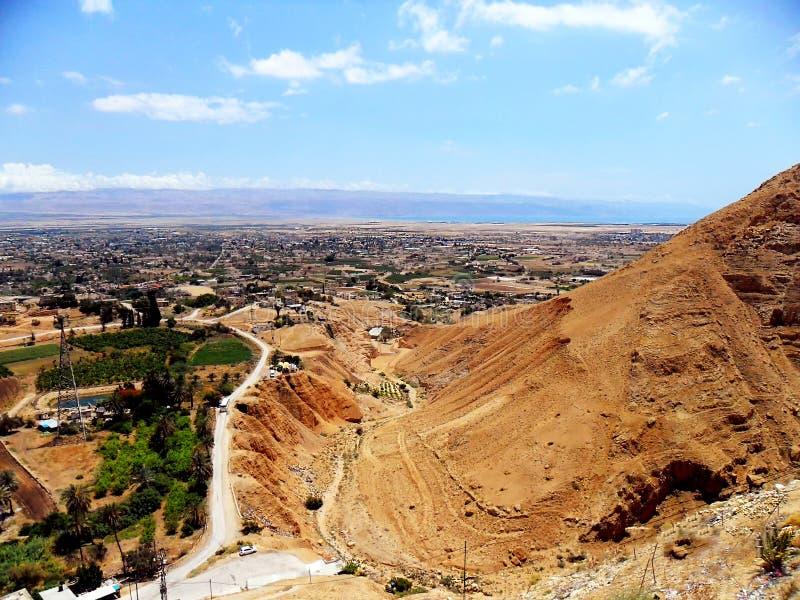 Israel, Médio Oriente, cidade de Jericho, cidade velha fotos de stock royalty free