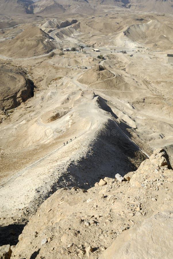 israel masada arkivbilder
