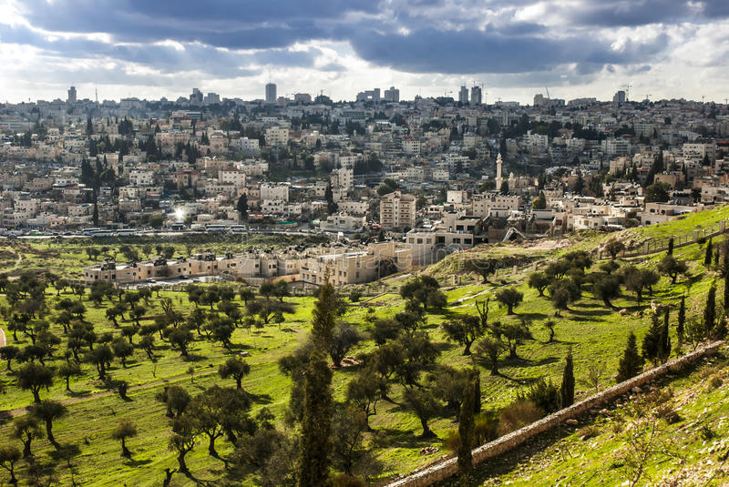 Download Israel, mount olives stock photo. Image of grave, holy - 27148068